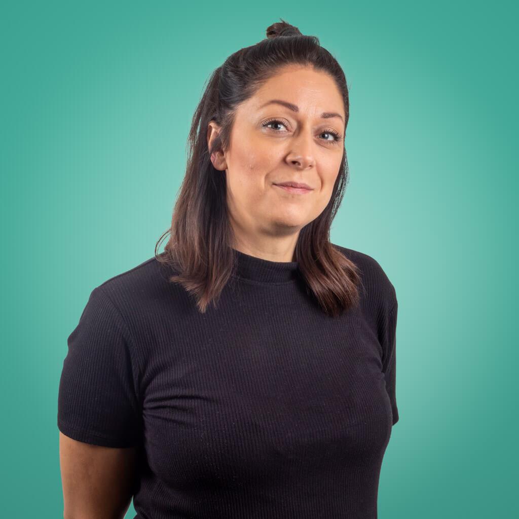 Hanna Bergman - tidigare restaurangchef och numera kundansvarig på Ancon