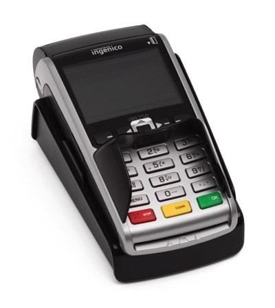 Mobil kortterminal med NFC