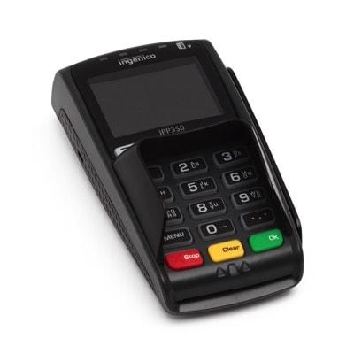 Stationär kortterminal med NFC